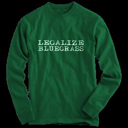 Legalize Bluegrass T-Shirt - Long Sleeve