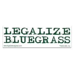Legalize Bluegrass Sticker