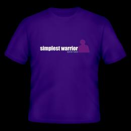 Aaron Katz - Simplest Warrior T-Shirt